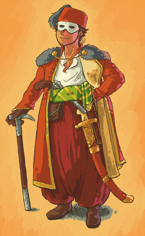 Turkey Cossack by Trillzey