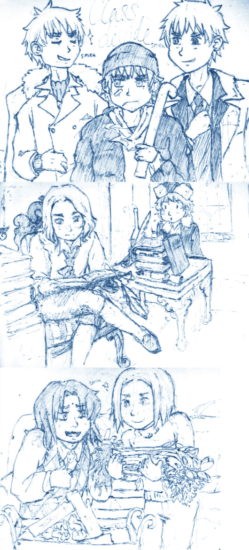 Sketch Trio: Choose--- by Trillzey