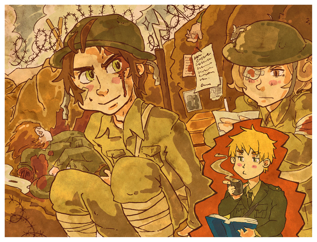 APH: ANZAC Trenches by Trillzey