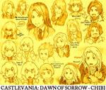 Castlevania DoS Chibi Wall
