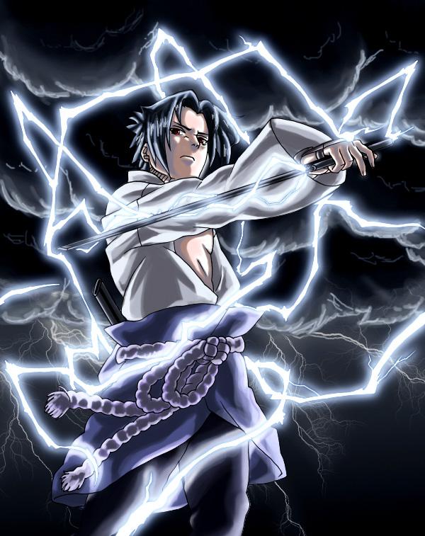 Colo sasuke chidori nagashi by Tyfflie on DeviantArt