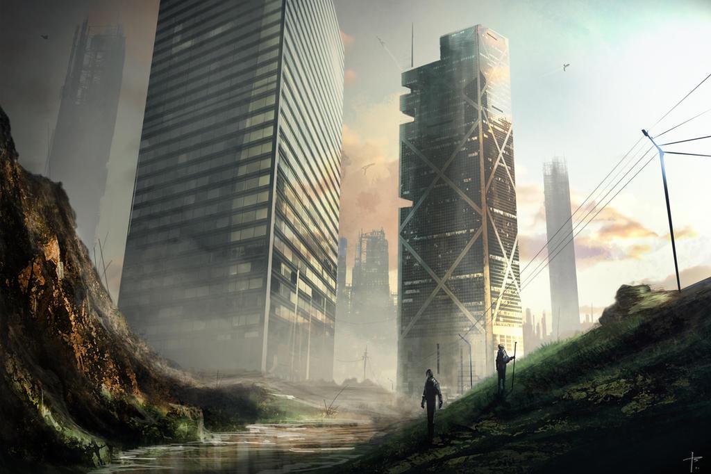 City Outskirts by Thomas-Baker