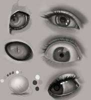 Eye Practice by gerakun87