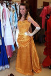 Belle's Gold Gown