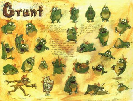 Grunt Character Sheet