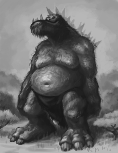 A Giant Brute by concept-creature
