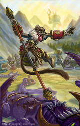 League of Legend's Wukong, the Monkey King