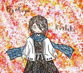 coloured byakuya by sickigirl by Byakuya-sweetly-Club