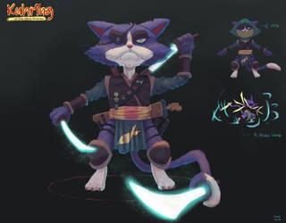 June's Character Design