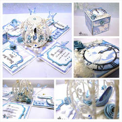 Cinderella Themed Explosion Box by Bellaelysium