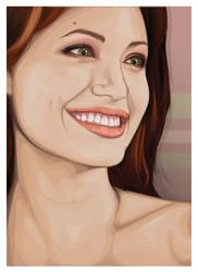 Angelina Jolie by kilxover