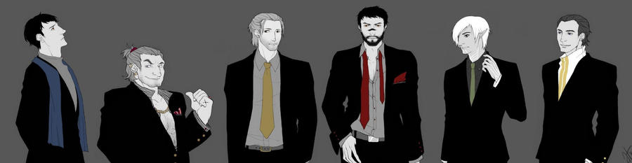 DA2 Guys - Suit Version