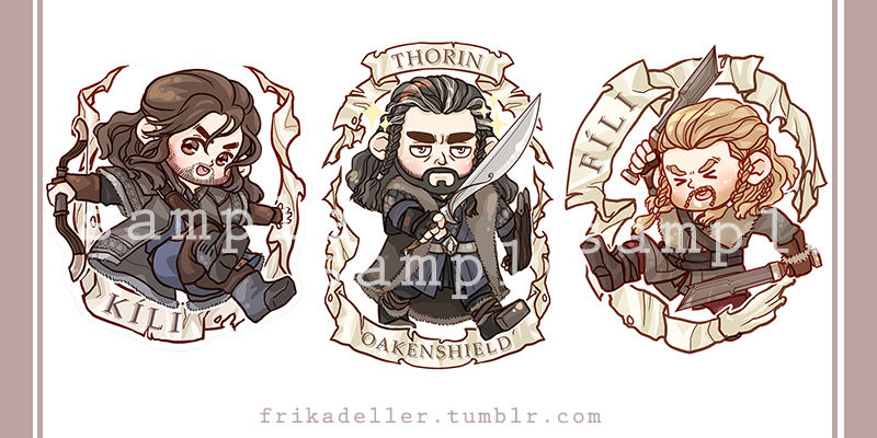 Durins Keychains by ivory-dusk