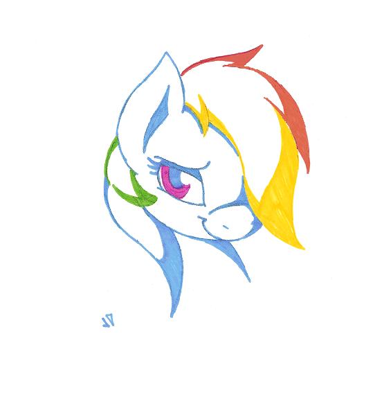 Rainbow Dash by Joey-Darkmeat