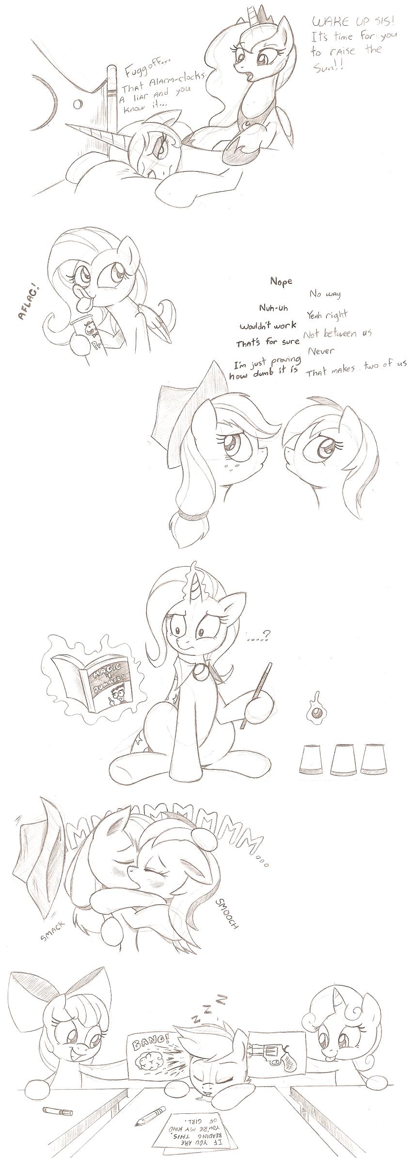 Pony Doodle Train by Joey-Darkmeat