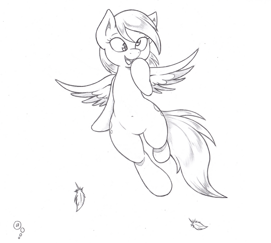 Derpy hooves by joey darkmeat on deviantart for Derpy hooves coloring pages