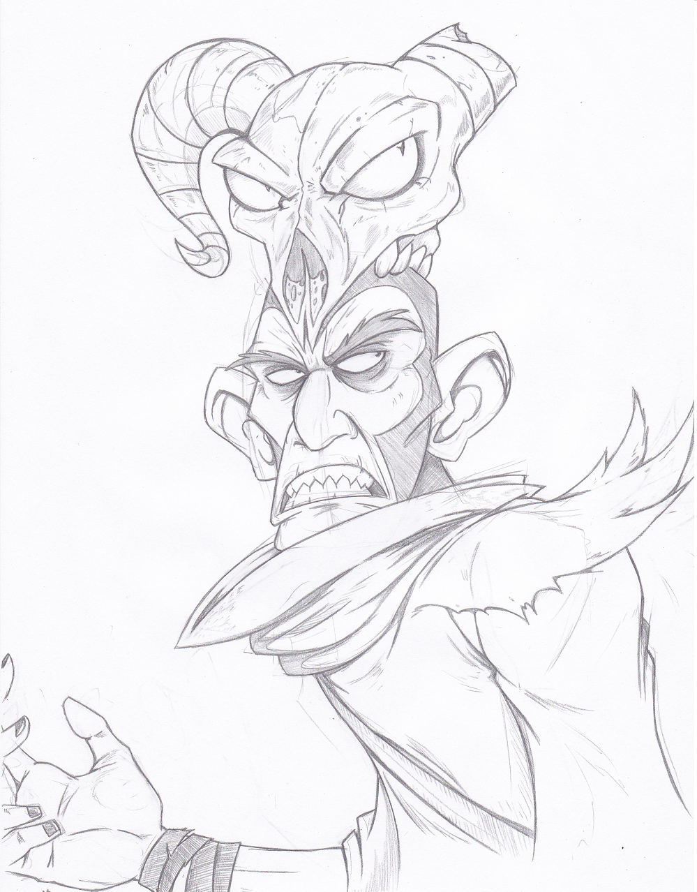 Merasmus The Wizard by Joey-Darkmeat