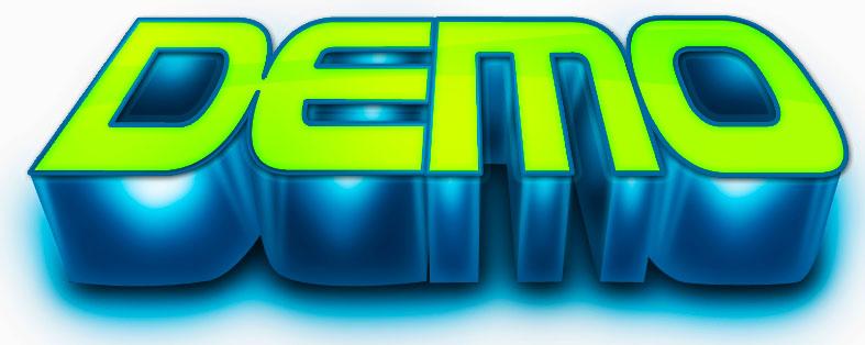 demo logo by dieman123 on deviantart