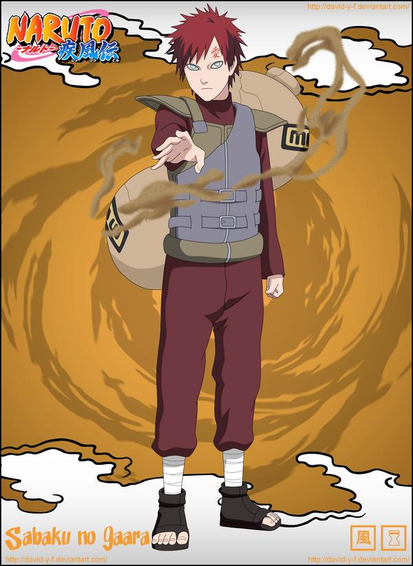 Sabaku no Gaara  Naruto  Gaara Of The Desert Shippuden