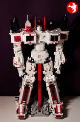 LEGO Transformers Masterpiece Metroplex 2015 - 001 by Dejin-Art