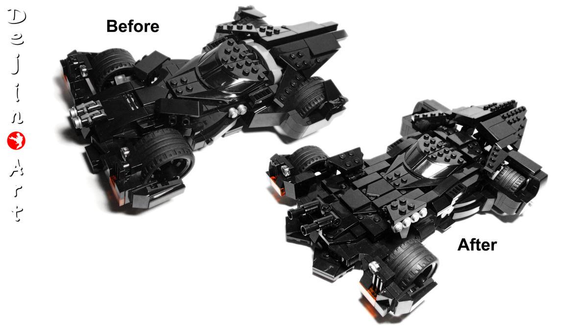 My Lego Dawn Of Justice Batmobiles Moc Comparison By Dejin Art On