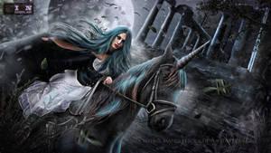 black horse by erool