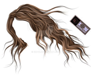 painted hair png 04