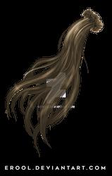 PNG pigtail hair 2