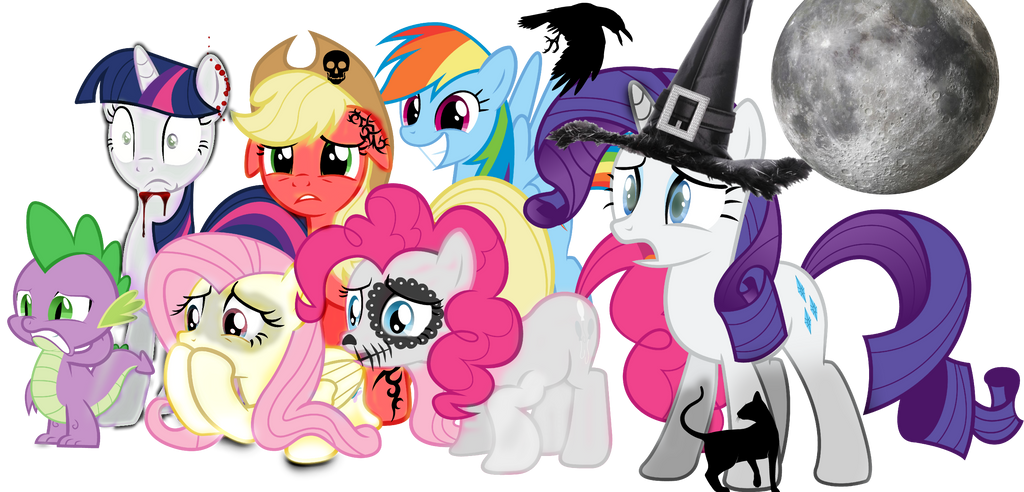 My Little Pony Halloween By Camerashy22 On Deviantart