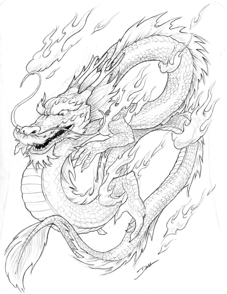 Chinese Dragon By Dflogan On DeviantArt