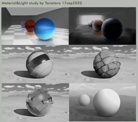 Matetrial and Light study 19sep2020