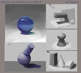 Matetrial and Light study 18sep2020