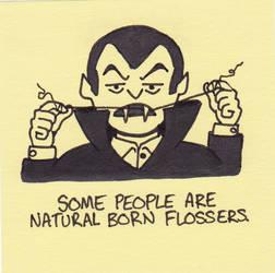 natural born flosser