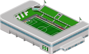 Hammarby Football Stadium by andersson