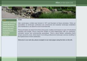 Afan Landscapes, Ltd. Design by andersson