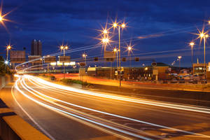 Highway by night 3 by mariusjellum