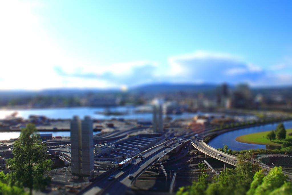 Tilt shift Oslo