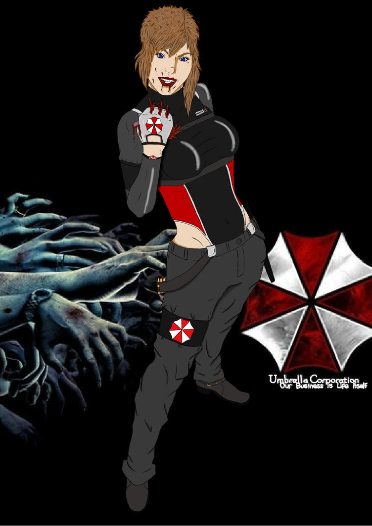 My Resident Evil OC by Whogal1