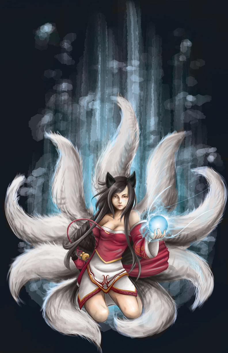 Ahri Revised by SaintPrecious