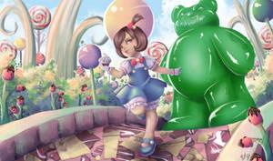 League of Legends Annie - Skin Idea by SaintPrecious