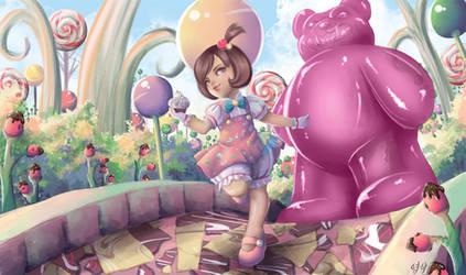 League of Legends Annie Skin Idea Redone by SaintPrecious