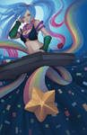 League of Legends Arcade Sona