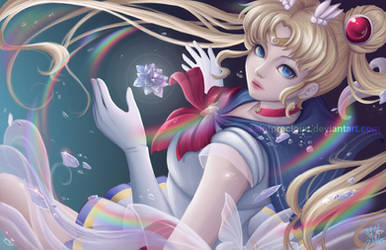 Sailor Moon by SaintPrecious