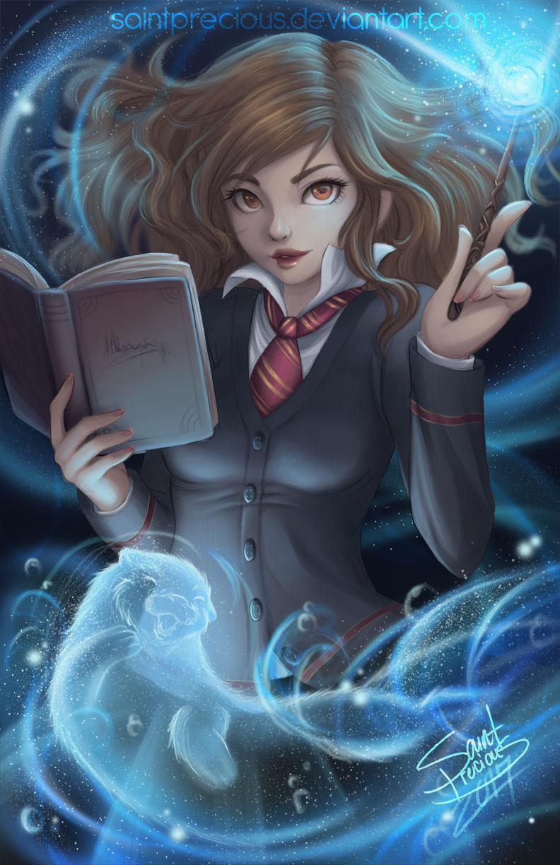 Hermione by SaintPrecious on DeviantArt
