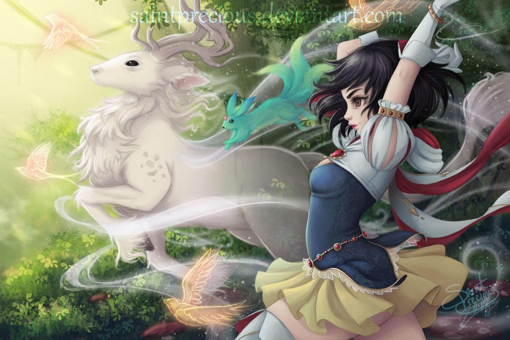 RPG Snow White by SaintPrecious