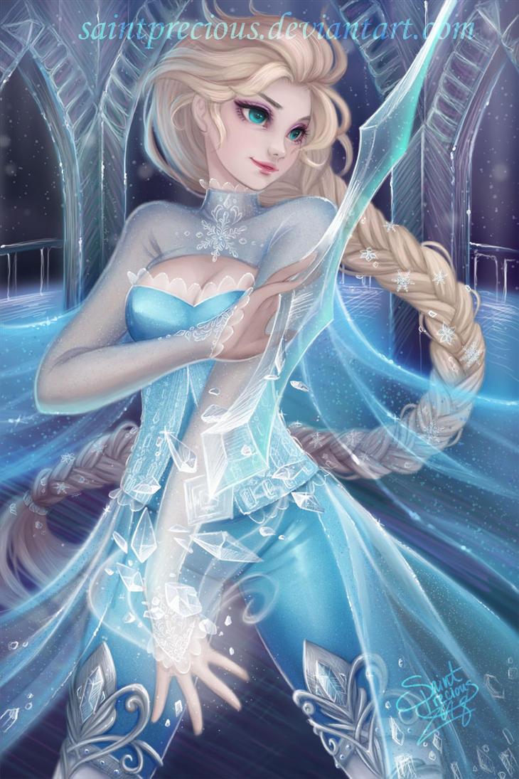 RPG Elsa by SaintPrecious