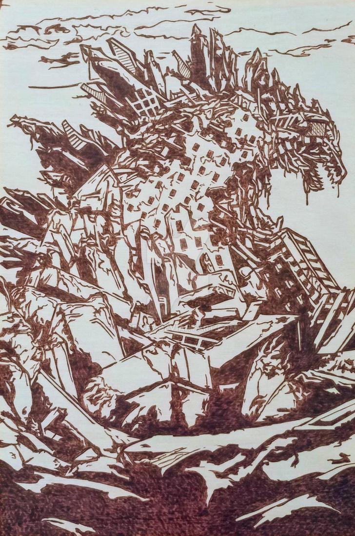 Godzilla Debris by 9FIVE7