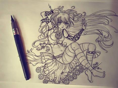 Sketching !