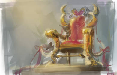 Ugly throne spitpaint