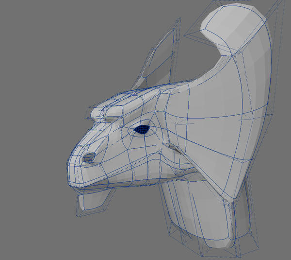 Brass Dragon WIP by Meloncov